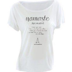 camiseta namaste yoga