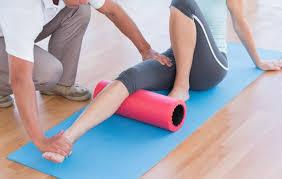 Automasaje con foam roller en pilates